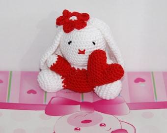 Valentines day gift. Crochet Amigurumi kids toy. Handmade animal. Baby shower party. birthday gift. Gift for teens. Gift under 30euros