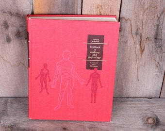 1971 Textbook of Anatomy and Physiology Charts Clear Slides Illustrations