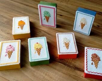 Pick your Ice cream cone conversation block art