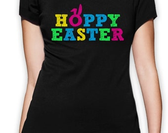 Hoppy Easter Women's Short Sleeve T-Shirt