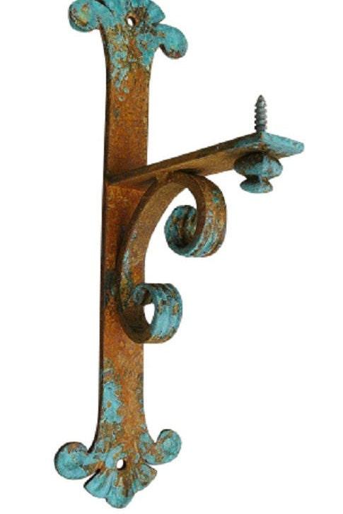 Decorative Mantel And Shelf Bracket 7 X 17 Hand Forged