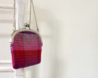 June Hand Woven Bag Plum