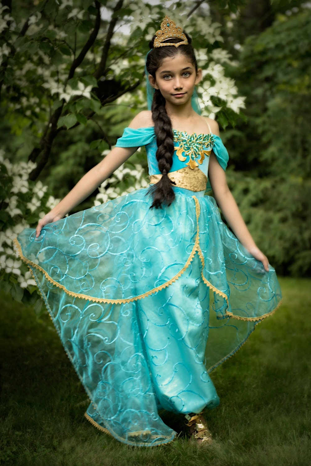 No halloween delivery princess jasmine costume - Robe jasmine disney ...