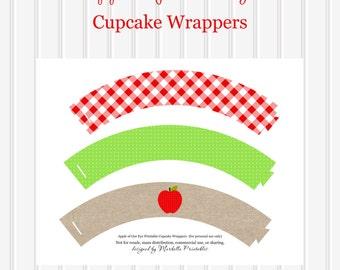 Burlap cupcake wrapper | Etsy