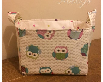Medium fabric basket