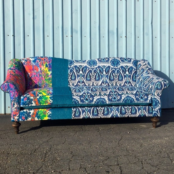 Custom Sofa from Blue Chair Upholstery