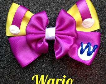 Wario inspired bow