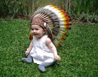N01- For 9 to 18 month  Toddler / Baby: three colors Headdress for the little ones !,