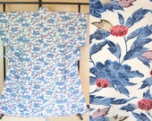 Porcelain floral kimono w...