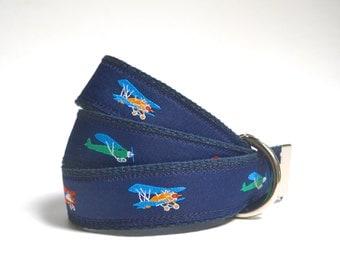 Airplane Child Belt, Boy Belts, Airplane Birthday, Child Belts, Canvas Belts, Kids Belt, Airplane Gift, Airplane Baby, Pilot Gift