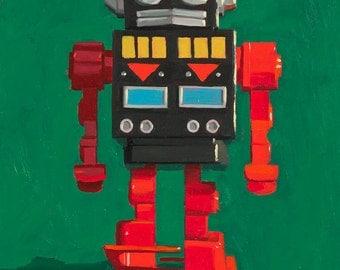 Toy Robot - Art Print