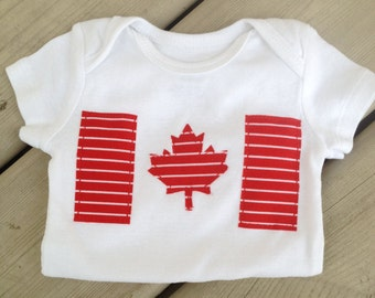 Oh Canada Baby Onesie