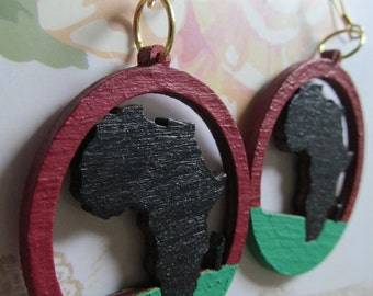 Africa Earrings (Small)
