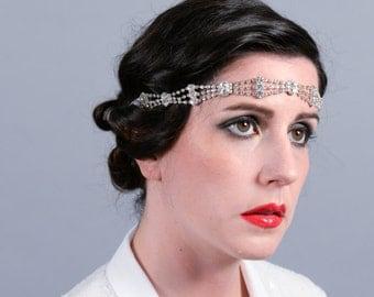 Gatsby diamante wedding or occasion headband