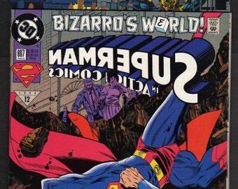 Lot 2 Superman Comics, Comic Books, 1994, SuperHero Comic, Vintage Comic Books, Old Comic Books