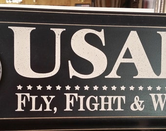 U S AIRFORCE SIGN