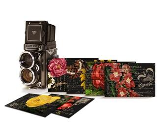 Floral printable postcards / digital collage sheet / vintage floral tags / scrapbook embellishment / cardmaking, scrapbooking, crafts, ACEO
