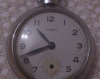 vintage Timex Gents pocket watch