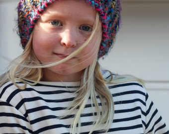 Kids Nautical Top, Navy Blue Stripes, Luxuriously soft cotton for even the pickiest of kids