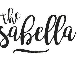 Custom Header for THE ISABELLA Template