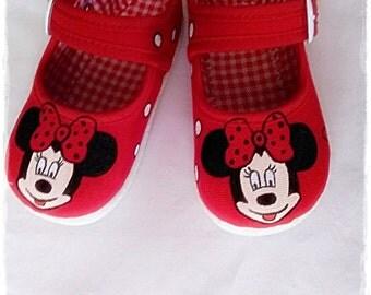 Minnie shoes, Minnie sneakers, Minnie, Minnie mousse, minnie sneakers, Princess sneakers, hanmade sneakers