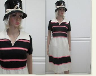 60's Shannon Rodgers for Jerry Silverman dress. Mid century day dress, vintage dress, Mod 60's dress, Mad Men dress