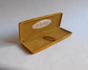 vintage Parker pen case, box