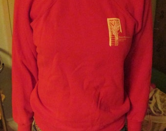 Vintage small red sweatshirt