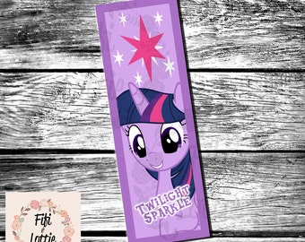 My Little Pony Twilight Sparkle Bookmark Printable Instant Download