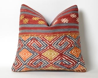 handwoven pillow, handwoven, decorative pillow, pillow, home decor, turkish pillow, woven pillow, kilim pillow, throw pillow, cushion