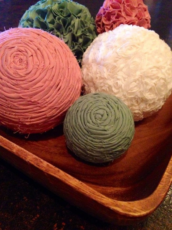 Items similar to soft spring large size decorative balls
