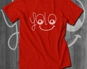 YOLO T Shirt Nerd Shirt Funny T shirts for Men Funny Shirts for men You Only Live Once t shirts Gift for Him sales