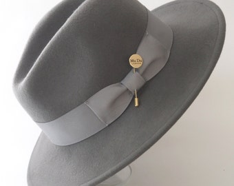 City Trilby Hat in grey