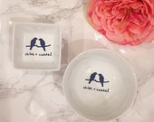 Chloe + Isabel Jewelry dish, ring holder, Preppy