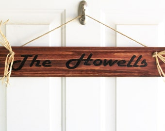 Wood Signs, Personalized Wood Sign, Signs, Custom Sign, Name Sign, Custom Wood Sign, House Decor
