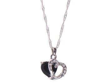 Black Onyx Crystal Necklace