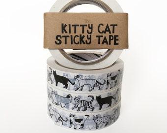 Kitty Cat Sticky Tape