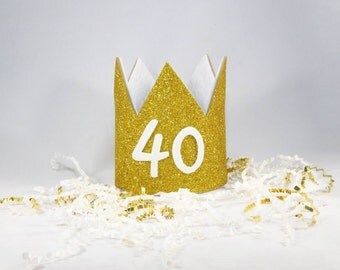 40th Birthday Crown!!!