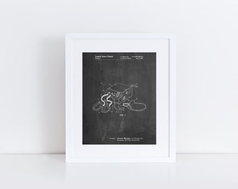 Defibrillator Patent Poster, Doctors Office Decor, Nurse Gift, EMT Gift, Medical Art, PP0778