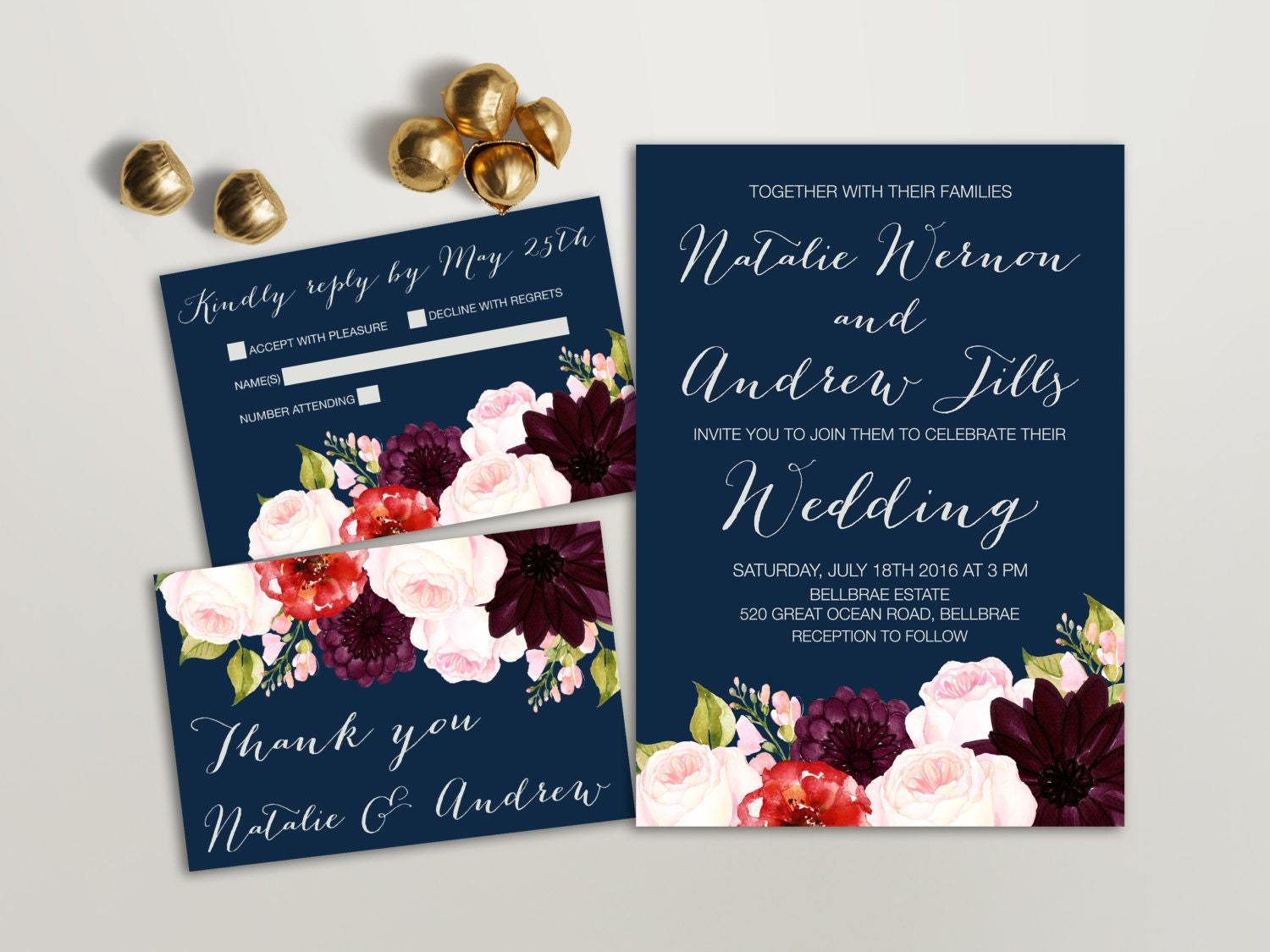Modern Wedding Invitations Flowers Pictures Design Ideas Dievoon