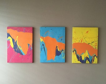 Gravity Paintings - Primary Triplets