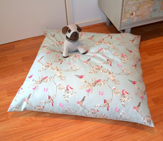Floor Pillows With Washable Covers : Large Dog Bed Giant Floor Cushion Dog Bed with Washable Cover
