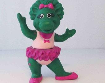 Baby Bop Ballerina Toy Figure Lyons Group 1990s Vinyl Figure - 4 3/4 Inches