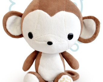 Bellzi® Cute Monkey Stuffed Animal Plush - 12""