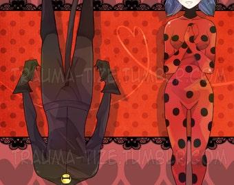 Miraculous Ladybug print