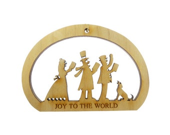 Christmas Carolers Ornament - Christmas Carolers Christmas Ornament - Custom Christmas Carolers Gift  - Personalized Free