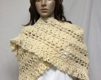 Knit shawl,Knit Shawl ,Tan,knit Wrap