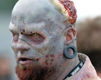 Zombie latex brow prosthetic