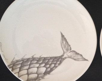 "porcelain plate, 31 cm, ""sirena"""