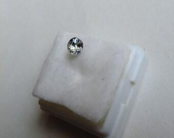 1 carat natural blue-green tanzanite, NON heated